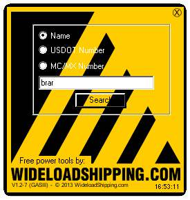Safer tool for trucking companies, brokers and pilot car company's. Free!