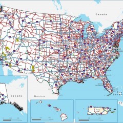 Road conditions and weather report for all US states - click here.