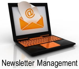 Newsletter management.
