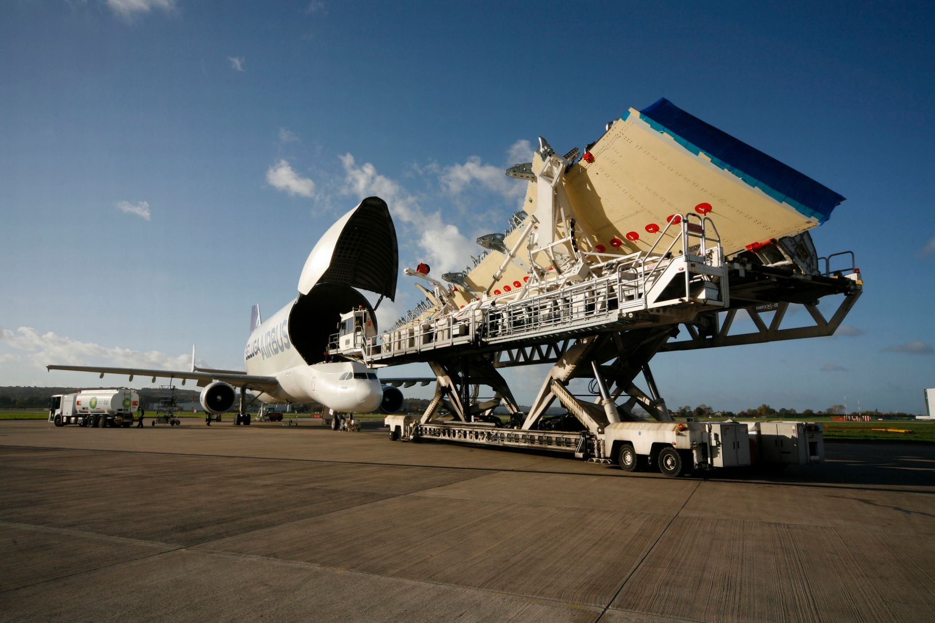 Airbus super transporter.