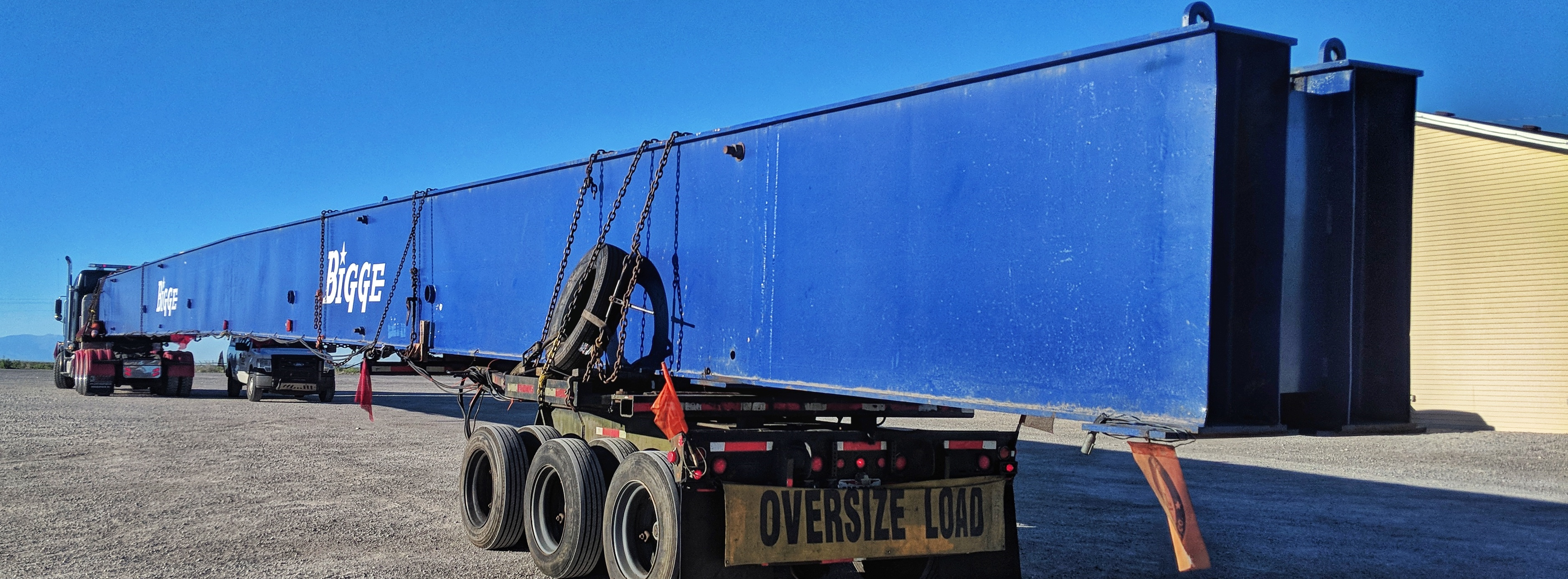 Over-length and heavy shipment.