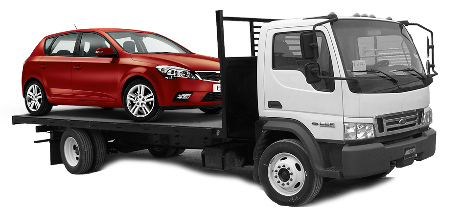 Independent car shippers for hire.